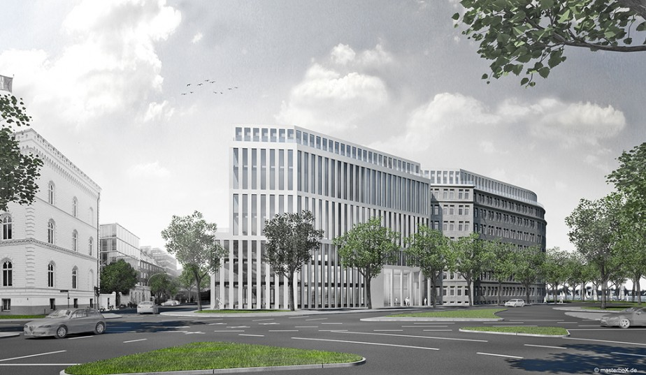 APB. Architekten | Alsterufer 1-3 | 1. Preis | 2010