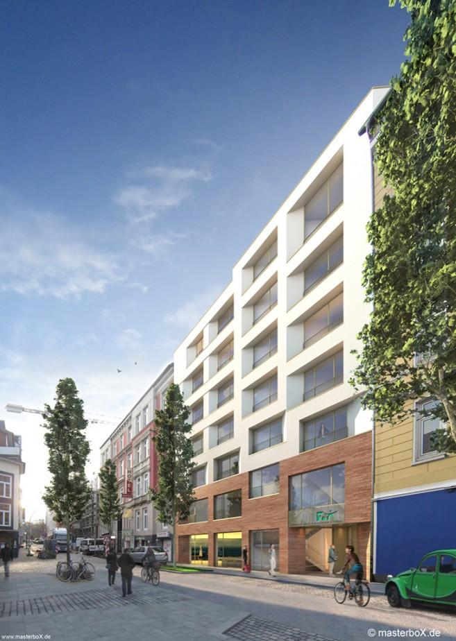 APB. Architekten | Pulverteich Hamburg