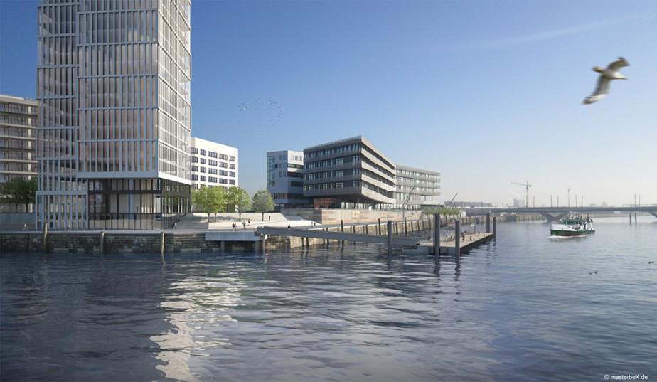 Ingenieurbüro Dr. Binnewies | Schiffsanleger Baakenhafen