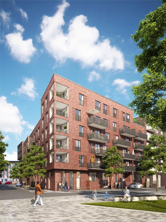 Behrendt Gruppe | Neue Mitte Altona Hamburg | Schenk + Waiblinger Architekten | 2015