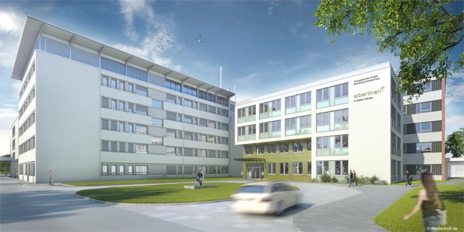 Henke + Partner Architekten | Amalie-Sieveking-Krankenhaus Hamburg | 2012
