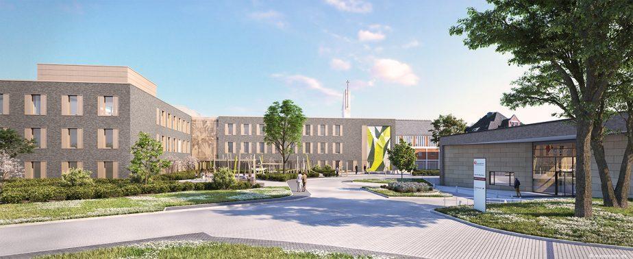 Henke + Partner Architekten | Neubau Kinder- und Jugendpsychiatrie Wilhelmstift Hamburg | 2018