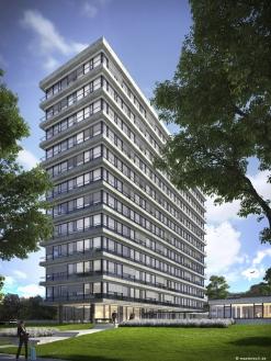 Isaria Wohnbau AG | Kapstadtring 1 Hamburg | Mevius Mörker Architekten | 2016