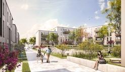 ISARIA Wohnbau AG Niederlassung Hamburg | Konrad-Veix-Stieg | Planwerkeins Architekten | 2017