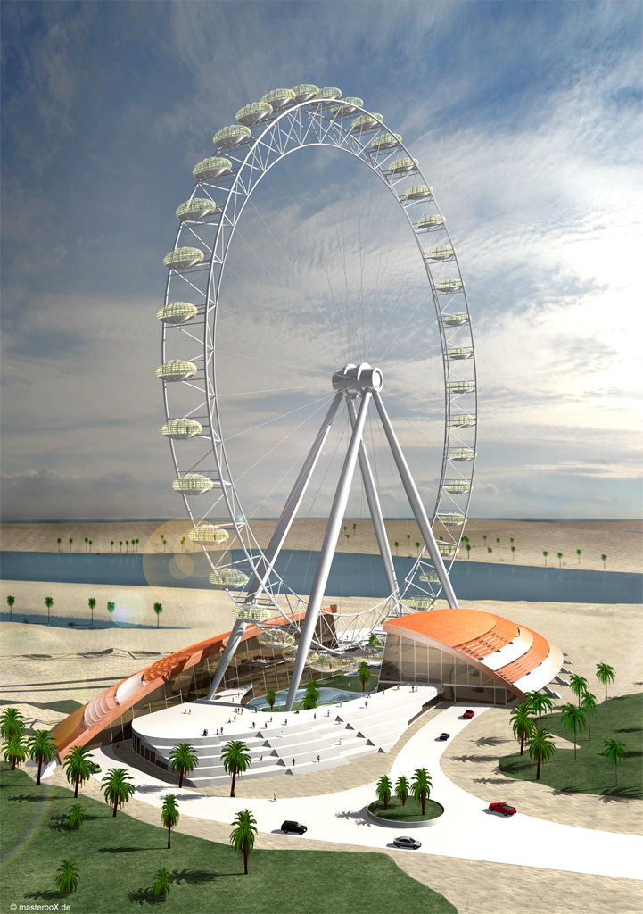 Lorenz + Partner GmbH | The Great Wheel | Riesenrad in Dubai | 2006