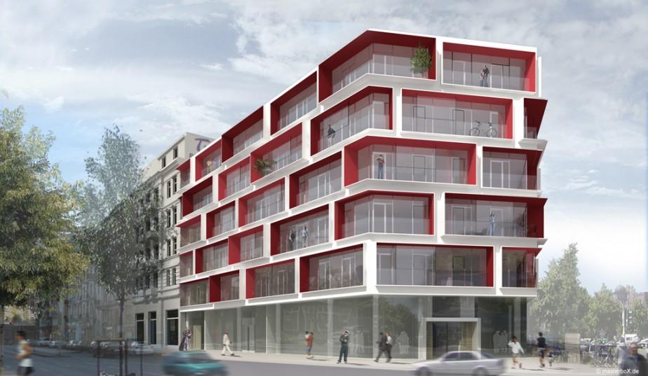 SEHW Architekten | Altonaer Straße Hamburg | 1. Preis | 2006