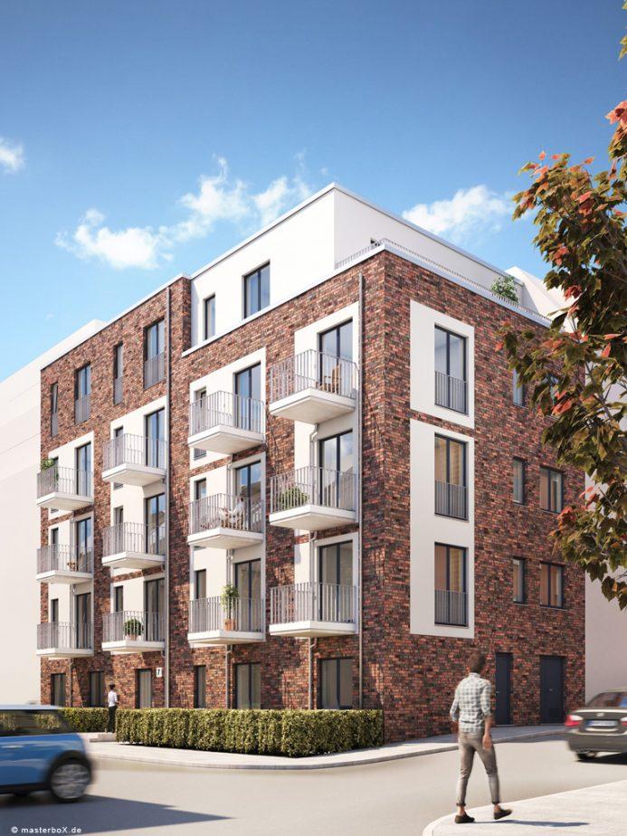Akelius GmbH | Brunnenhofstraße | SEHW Architekten | 2018
