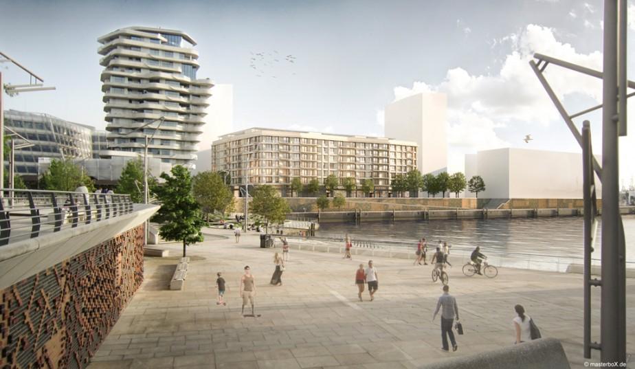 SEHW Architekten | Strandkai Hamburg