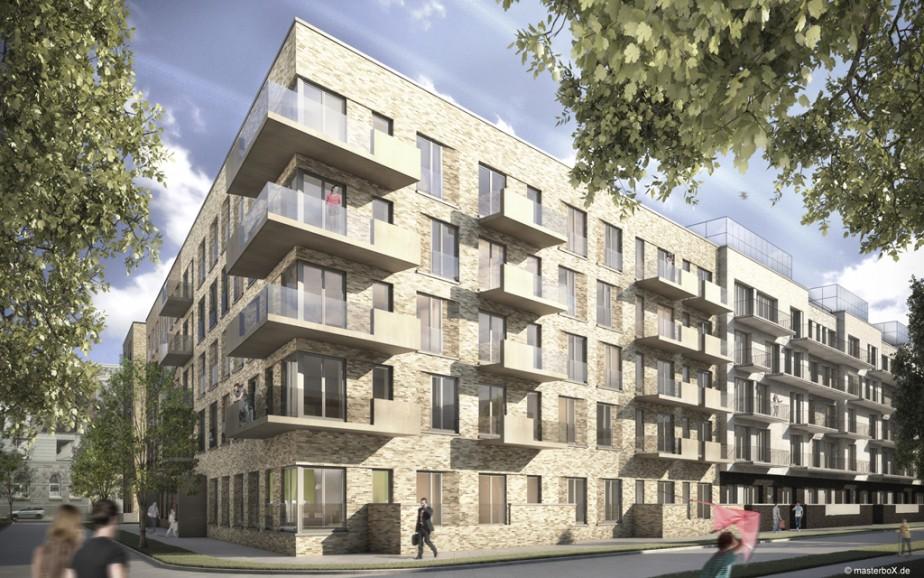 Windels Architekten | Neue Mitte Altona Hamburg
